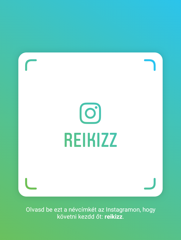 Reikizz az instagramon ~ Reikizz